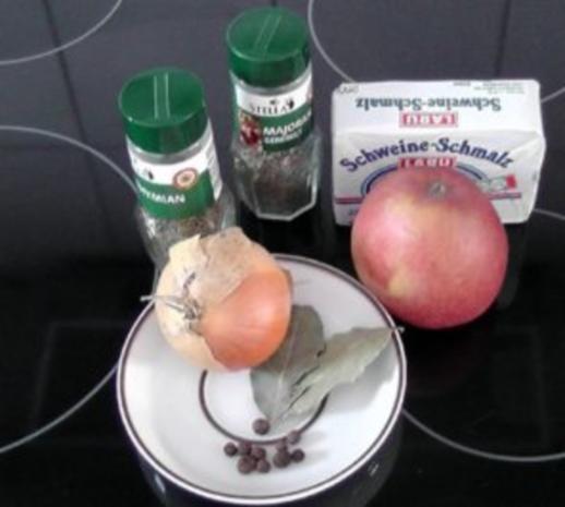 Apfel-Zwiebel Schmalz - Rezept - Bild Nr. 2