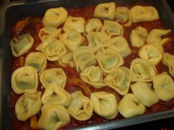 Tortelloni-Gemüse-Gratin - Rezept