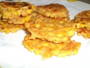 Mais - Küchlein mit Cornflakes - Rezept