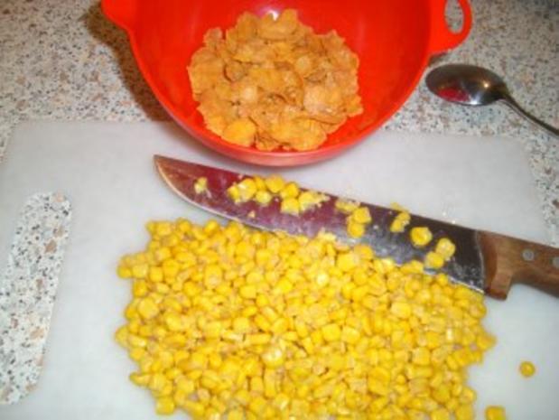 Mais - Küchlein mit Cornflakes - Rezept - Bild Nr. 2