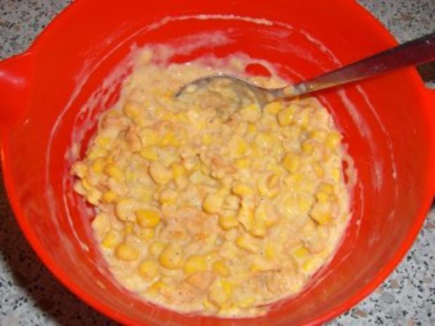 Mais - Küchlein mit Cornflakes - Rezept - Bild Nr. 3