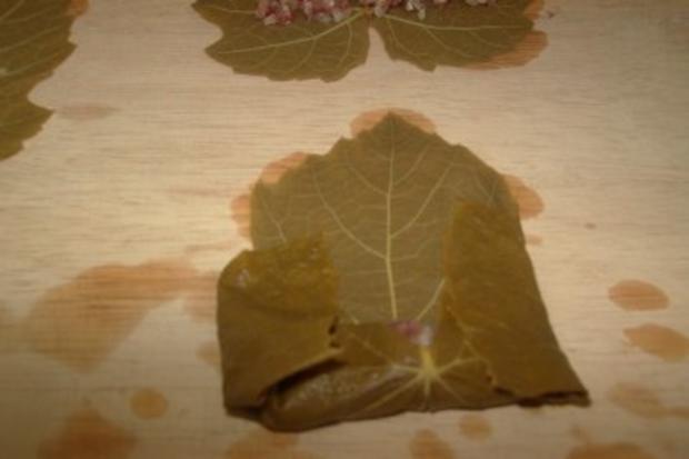 Gefüllte Weinblätter, mit Fleisch - Rezept - Bild Nr. 7