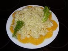 B: Orangen Fenchel Salat - Rezept