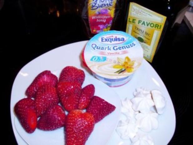 Desserts: Erdbeeren im Schnee - Rezept - Bild Nr. 2