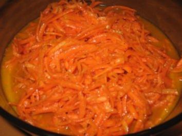 karottensalat mit creme fraiche