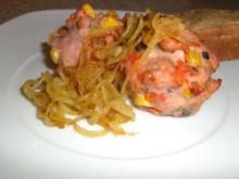 Portionsfleischkäse aus der Muffinform - Rezept