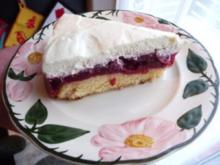 Kuchen : Kirsch-Sahne-Torte - Rezept