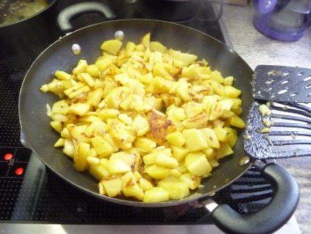 Resteverwertung : ... von Salzkartoffeln = Bratkartoffeln - Rezept - Bild Nr. 5