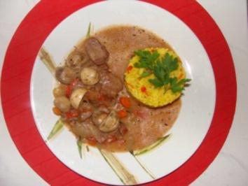 Fleisch : -Schweinefilet mit viel Gemüse- - Rezept