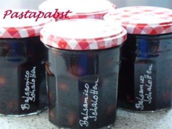 Rezept: Balsamico Schalotten