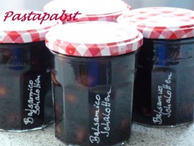 Balsamico Schalotten - Rezept