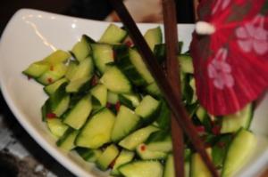 Thailändischer Gurkensalat - Rezept