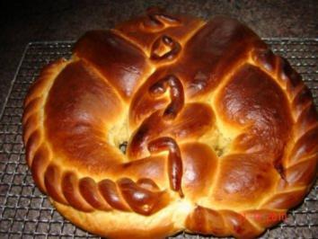 Kuchen + Torten : Neujahrsbrezel - Rezept