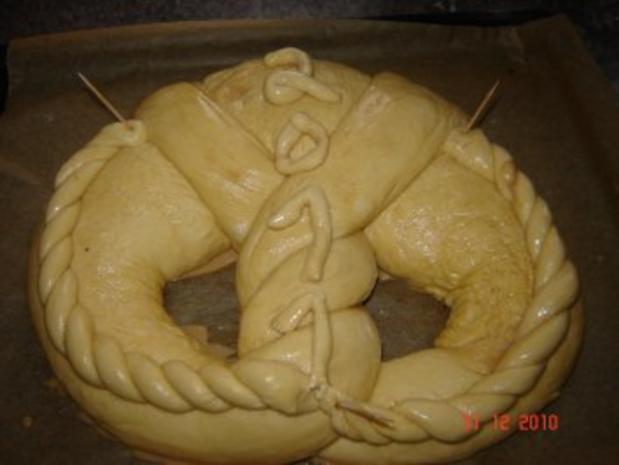 Kuchen + Torten : Neujahrsbrezel - Rezept - Bild Nr. 5