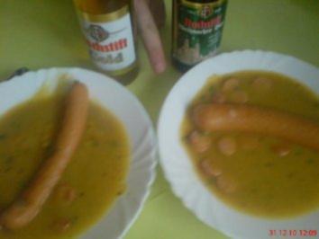 Kartoffelsuppe für zwei - Rezept