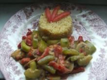 Reisrisotto mit knackigem  Gemüse - Rezept