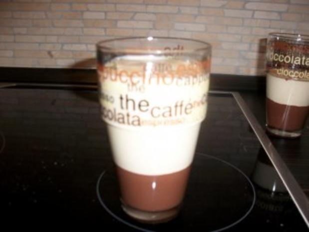 Latte-Macchiato-Dessert im Glas - Rezept - Bild Nr. 6