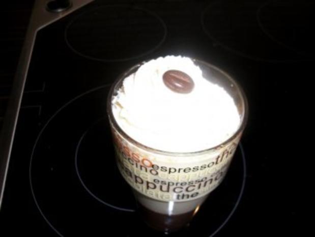 Latte-Macchiato-Dessert im Glas - Rezept - Bild Nr. 2