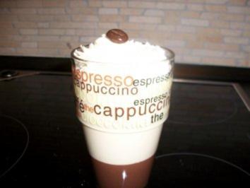 Rezept: Latte-Macchiato-Dessert im Glas