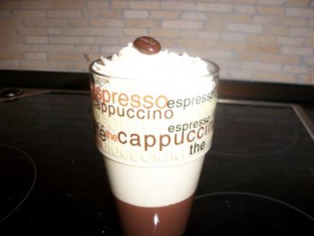 Latte-Macchiato-Dessert im Glas - Rezept