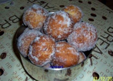 Rezept: Backen: Berliner Pfannkuchen ... ala Oma