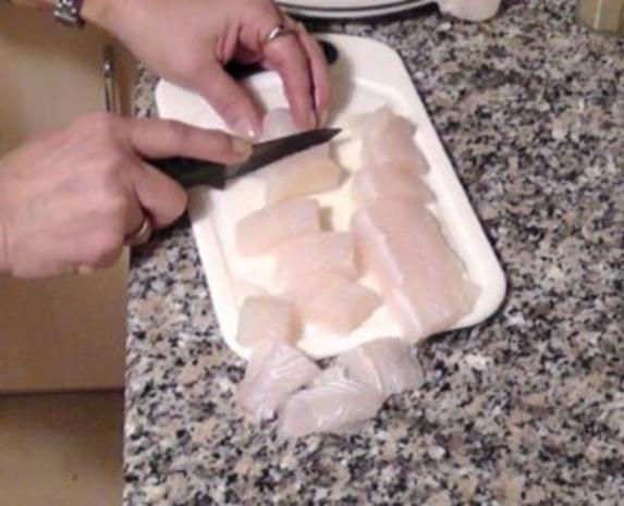 Knusprige Fischspieße - Rezept - Bild Nr. 3