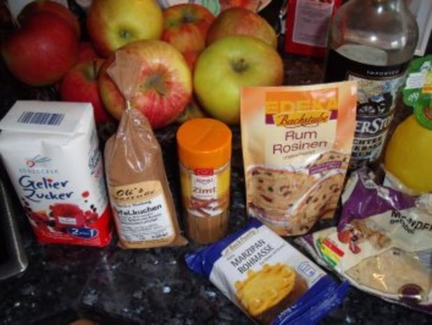 Marmelade: Bratapfel-Marzipan - Rezept