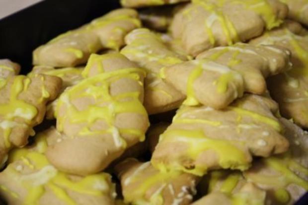Dinkel-Zitronen-Kekse - Rezept