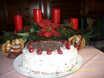 Stracciatella - Torte - Rezept