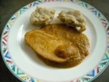 Putenbraten mit Senf-Meerrettich-Kruste - Rezept