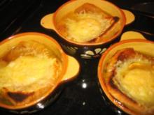 Suppe: Überbackenes Eigelb- Käse-Süppchen - Rezept