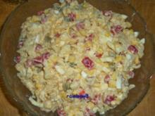 Salat: Bunter Nudelsalat - Rezept