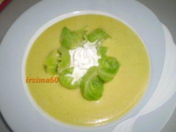 Rosekohl - Käse - Suppe - Rezept