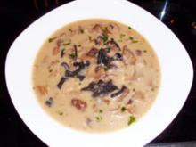 Suppe: Funghi-Creme-Süppchen - Rezept