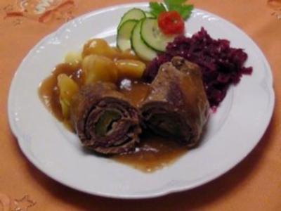 Beefsteakrouladen - Rezept
