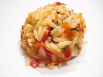 Beilage: Griechischer Tomatenreis - Rezept