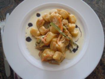 Gnocchi mit Mascarponesauce - Rezept