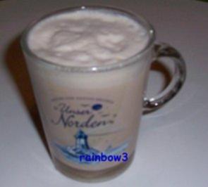 Getränk: Leckere heiße Milch - Rezept