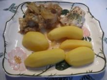 Fisch : Kabeljaufilet mit Mangold und Salzkartoffeln - Rezept