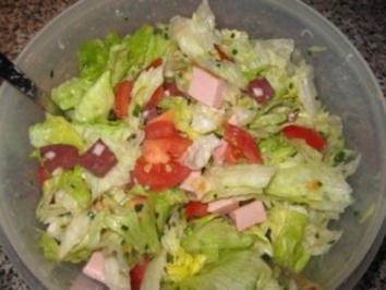 Mein grüner Wurstsalat - Rezept