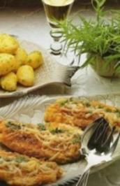 Estragon-Fischfilet mit Käse überbacken - Rezept