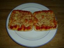 Schnelle Margherita Minipizze - Rezept