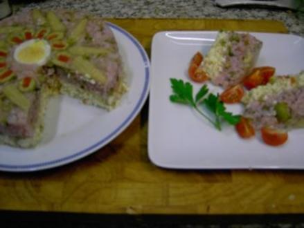 Schinken Käse Torte - Rezept