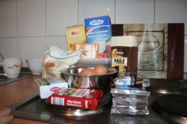 Torten: Trüffeltorte mit einem Hauch von Zimt - unsere Weihnachtstorte - Bilder sind on - - Rezept - Bild Nr. 6