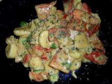 Bananen-Putencurry mit knackigem Gemüse - Rezept