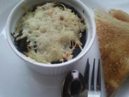 Hähnchen-Grünkohl überbacken - Rezept