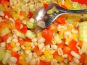 Fruchtiger Sonnenweizensalat nach Weight Watchers - Rezept