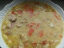 ( Eintopf )   Weiße Bohnen Suppe - Rezept