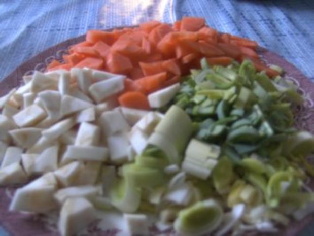 ( Eintopf )   Weiße Bohnen Suppe - Rezept - Bild Nr. 3