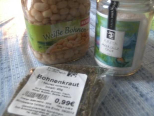 ( Eintopf )   Weiße Bohnen Suppe - Rezept - Bild Nr. 5